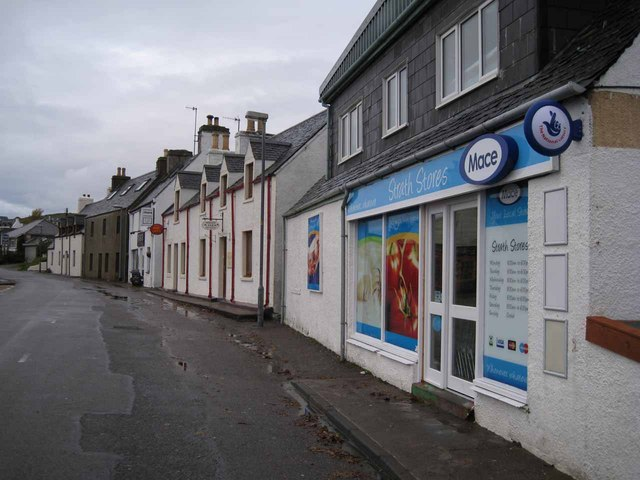 Shops and businesses in Strath
