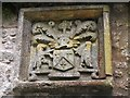 NT2463 : Arms at Glencorse Old Kirk (2) by Jim Barton