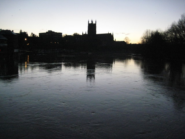 A winter solstice dawn in Worcester