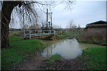 SK6514 : Farm Ford at Rearsby by John Walton
