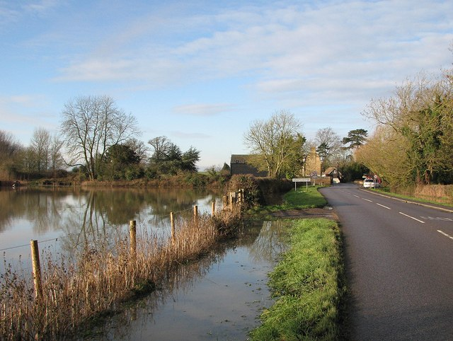 Flooding at Grantchester