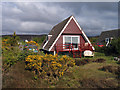 NG8788 : Holiday chalets near Aultbea by Trevor Littlewood