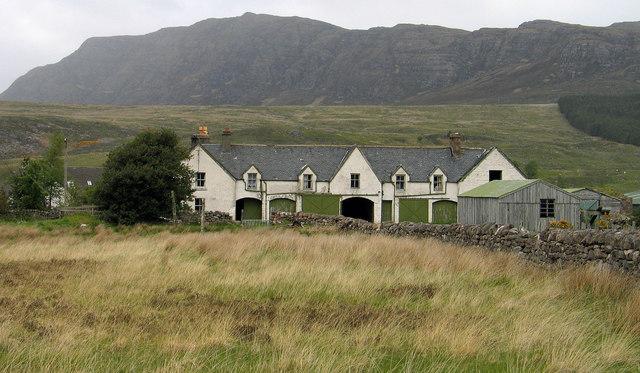 Kappoch Farm House (deserted)