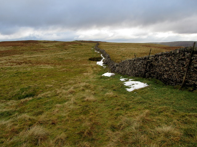 Boundary Wall on Horse Head Moor - South East