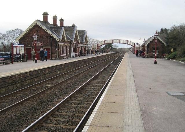 Appleby (West) railway station, Cumbria
