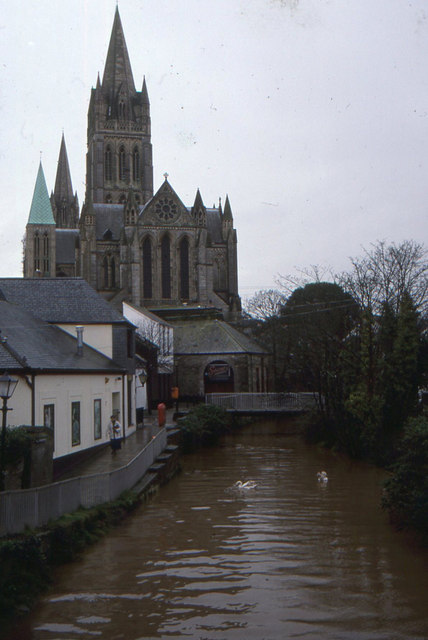 Truro Cathedral from the east