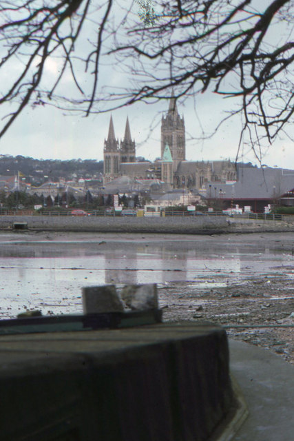 Looking across the river to Truro
