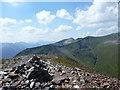 NN2365 : Summit of Sgùrr Eilde Mòr ('big peak of the hinds') by Alan O'Dowd