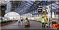 TQ3104 : Brighton station, Platform 3/4 by Ben Brooksbank