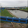 TL8706 : Heybridge Basin Lock by Roger Jones