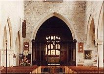 SK3463 : All Saints, Ashover - East end by John Salmon