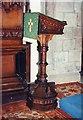 SK1582 : St Edmund, Castleton - Lectern by John Salmon