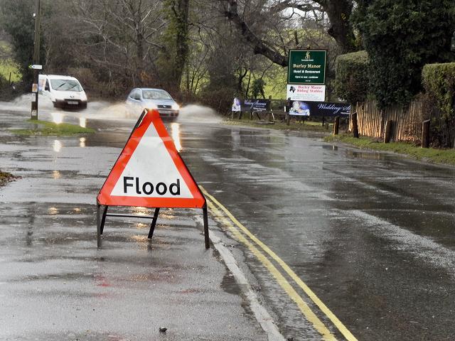 Flooding at Burley