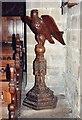 SK1575 : St John the Baptist, Tideswell - Lectern by John Salmon