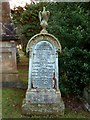 NS4075 : Memorial to Roderick McKenzie by Lairich Rig