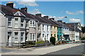 SN6222 : Row of houses, New Road, Llandeilo by Jaggery