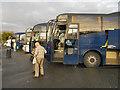 SJ9605 : Coach Park, Hilton Park Services (M6 Northbound) by David Dixon