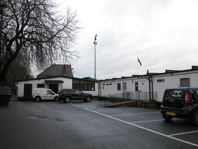 Blackheath sports club: clubhouse