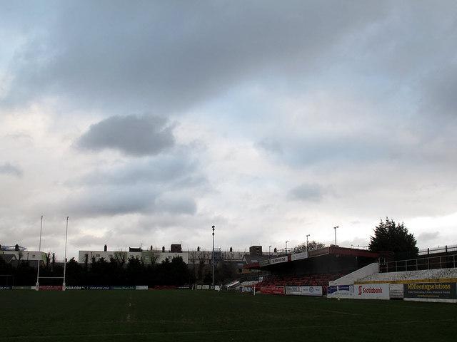 Blackheath sports club: main stand