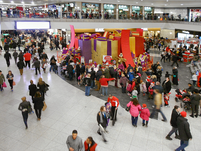Christmas Shopping at the Arndale