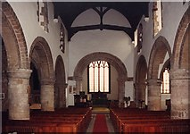 SK5276 : St Lawrence, Whitwell - East end by John Salmon