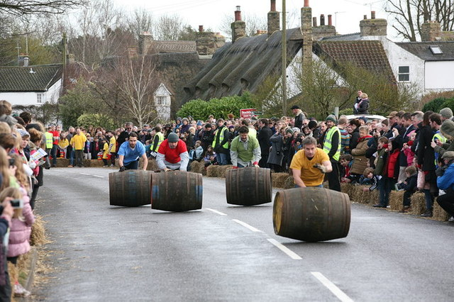 Boxing Day Barrel Race, Grantchester