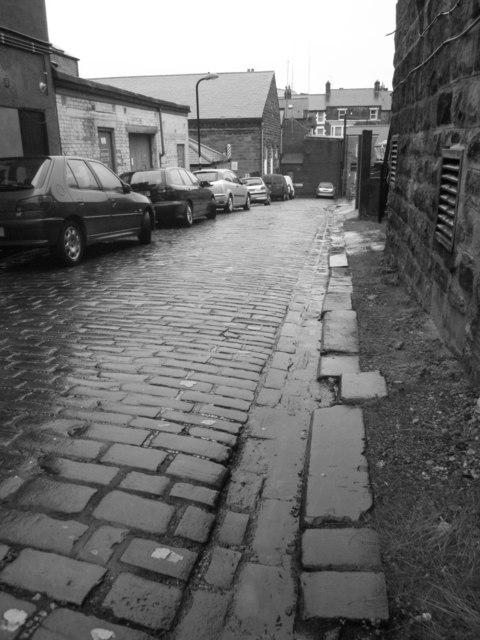 Back alley, Harrogate