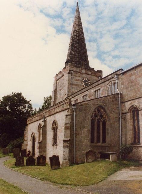 St Cuthbert, Doveridge