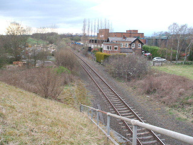 Goldsborough railway station (site), Yorkshire