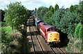 SJ7275 : The Northwich to Tunstead empties by roger geach