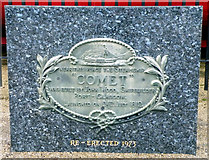 NS3174 : The Comet plaque by Thomas Nugent