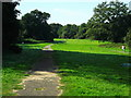 SP3371 : Old driveway to Stoneleigh Abbey by John Brightley