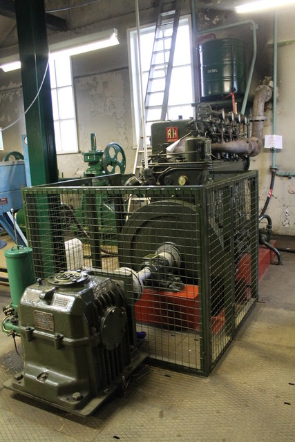 Ruston & Hornsby Engine, Ravensfleet Pumping station