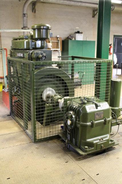 David Brown Engine, Ravensfleet Pumping station