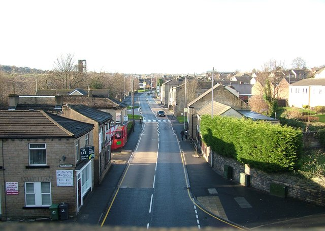 Westgate west from Sustrans route 66