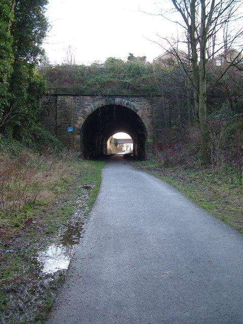 Short tunnel at Liversedge