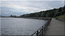 NZ3668 : Promenade, Tynemouth by Richard Webb