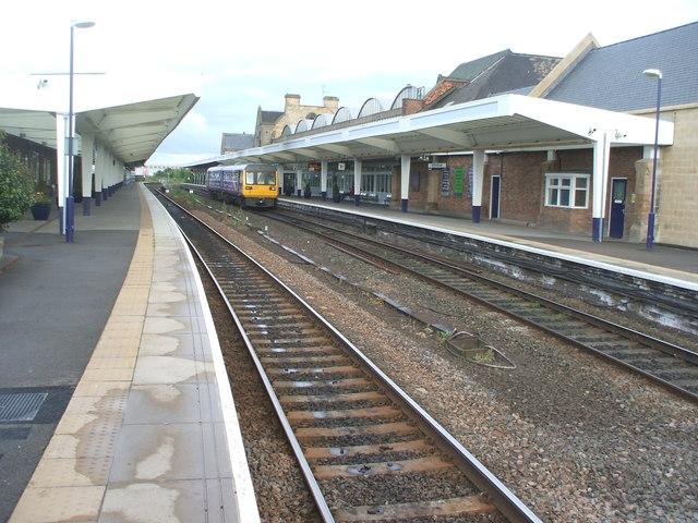 Middlesbrough railway station, Yorkshire