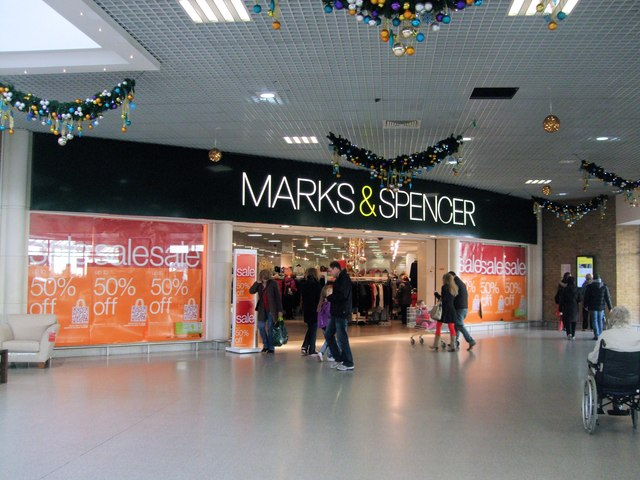 Marks Amp Spencers Holmbush Centre 169 Paul Gillett Cc By Sa