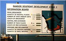 J5081 : Building Bangor marina (6) by Albert Bridge