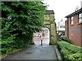 SD5817 : St Mary's Church gateway by Ann Cook