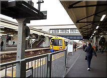 TQ2775 : A new service at Clapham Junction by Dr Neil Clifton