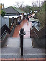 TQ2081 : Steps to North Acton station by Malc McDonald