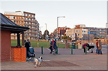 TQ2804 : Hove Street, Hove by Roger A Smith