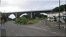 NZ3166 : Willington Viaduct by Richard Webb