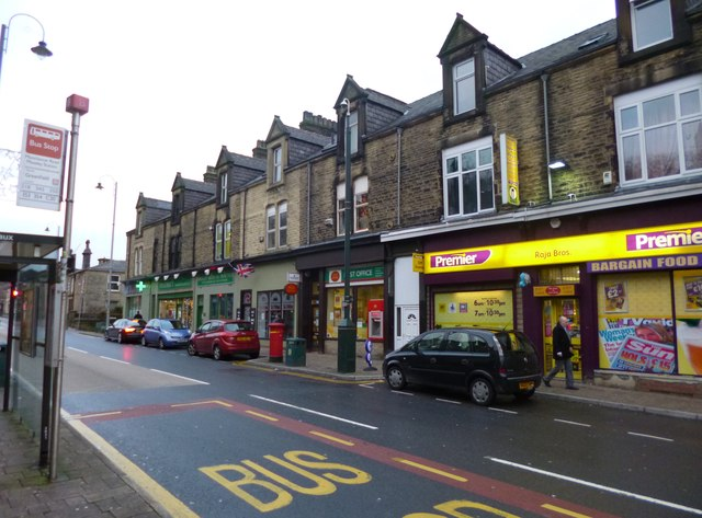 Mossley Post Office