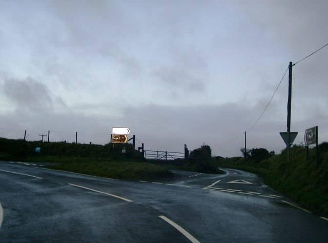 Road Junction on the B4313