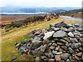 NY4822 : Cairn below Heughscar Hill by Anthony Parkes