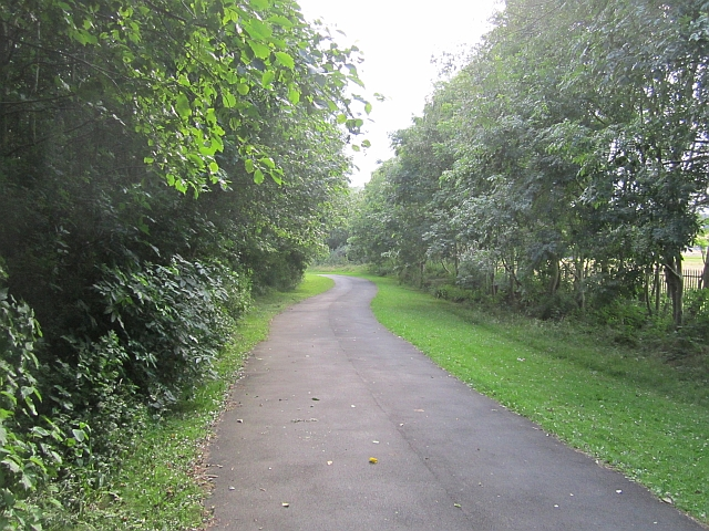 Cycle /foot path, St Anthony's
