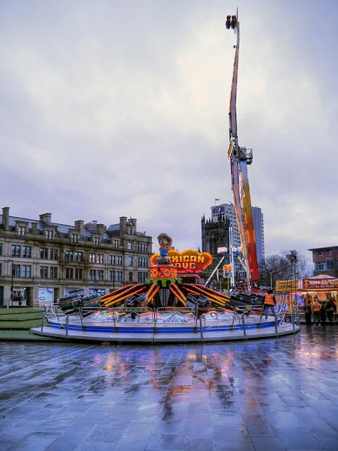 Cathedral Gardens, Christmas Fair